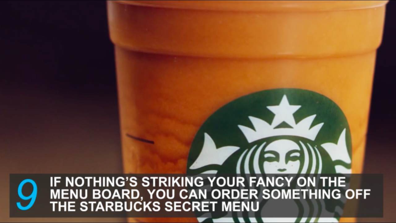 10 Starbucks hack to help you save money