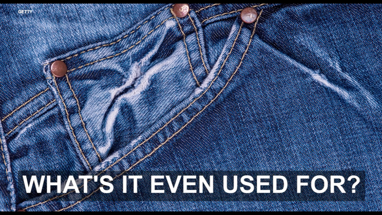 Here's why jeans have those tiny front pockets