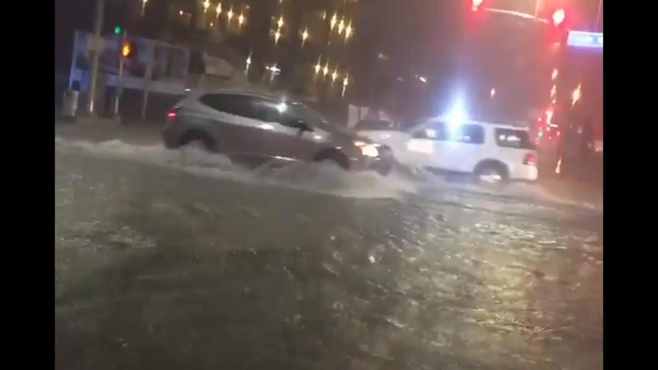 Close to Half Foot of Rain Overnight in Kansas City