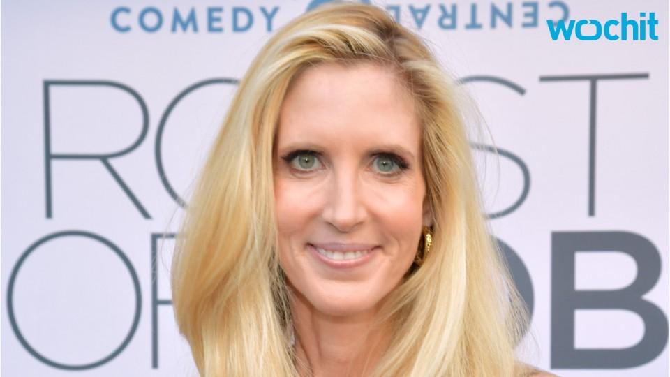 Ann Coulter Featured At Rob Lowe Roast