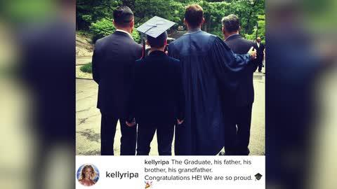 Kelly Ripa Sends Oldest Son to College