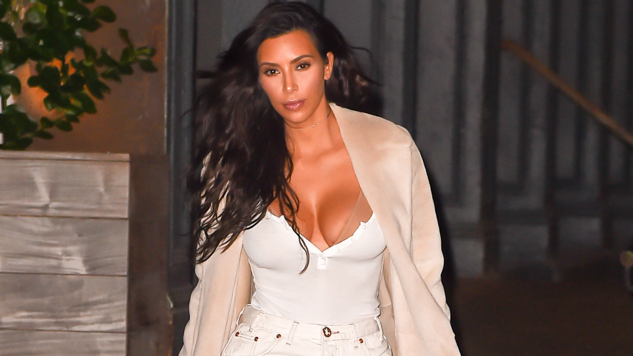 Kim Kardashian Frees the Nipple out in NYC and More News