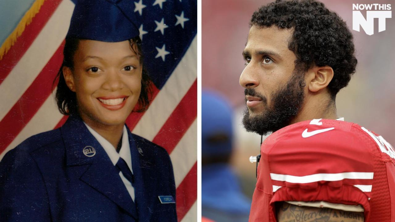 Veterans are Tweeting Their Support for Colin Kaepernick