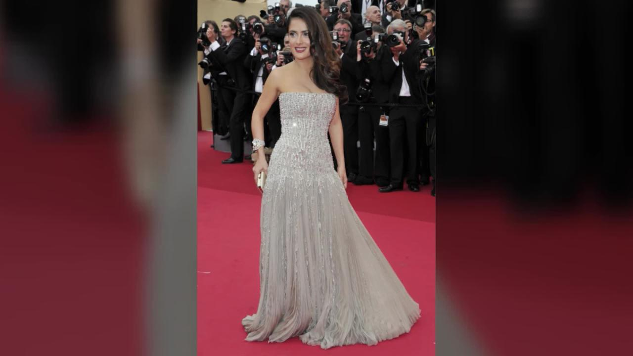 Salma Hayek's Red Carpet Style