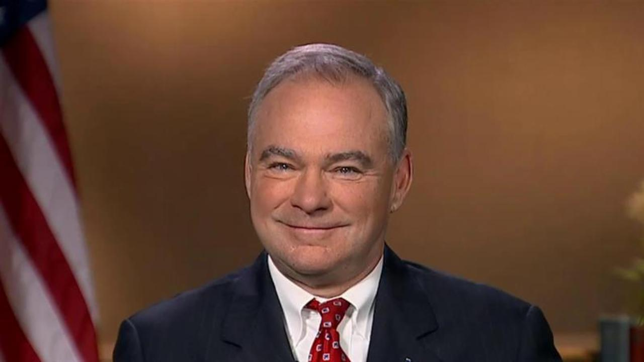 Tim Kaine: Donald Trump's trip to Mexico was 'diplomatic amateur hour'