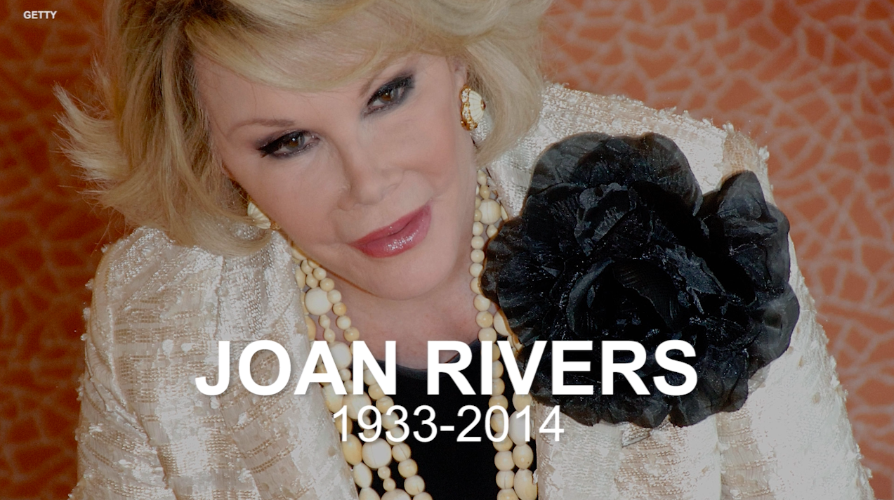 Joan Rivers' greatest quotes