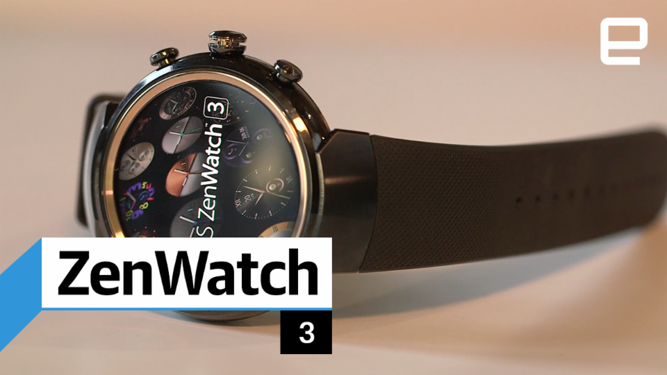 Asus ZenWatch 3: Hands-on
