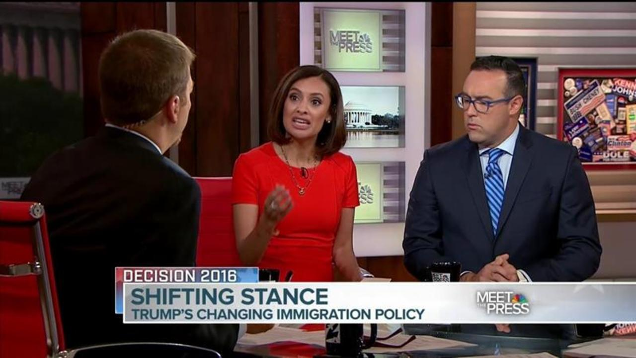 MTP Panel Discusses Trump's 'Missed Opportunity' on Immigration Policy