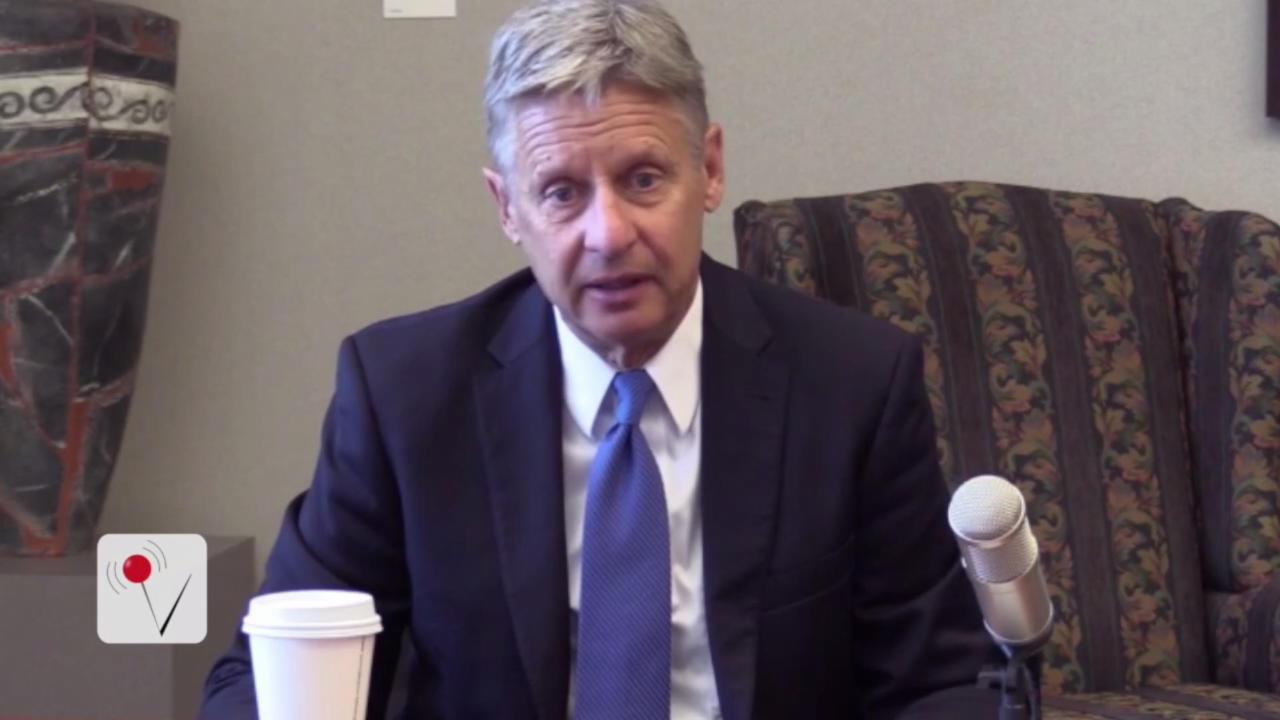 Major Newspaper Endorses Libertarian Gary Johnson for President