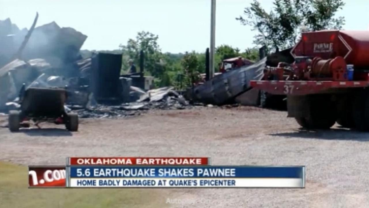 State of Emergency Declared After Oklahoma Earthquake