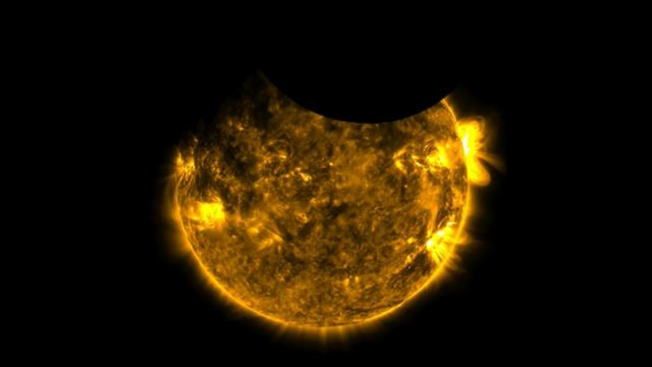 NASA Observatory Catches Rare Double Eclipse From Space