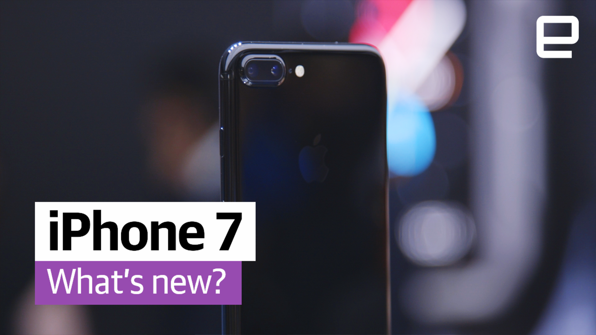 What happened at the iPhone event