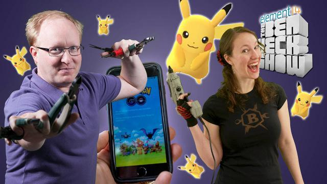 The Ben Heck Show - Episode 255 - Ben Heck's Pokemon Go Survival Kit