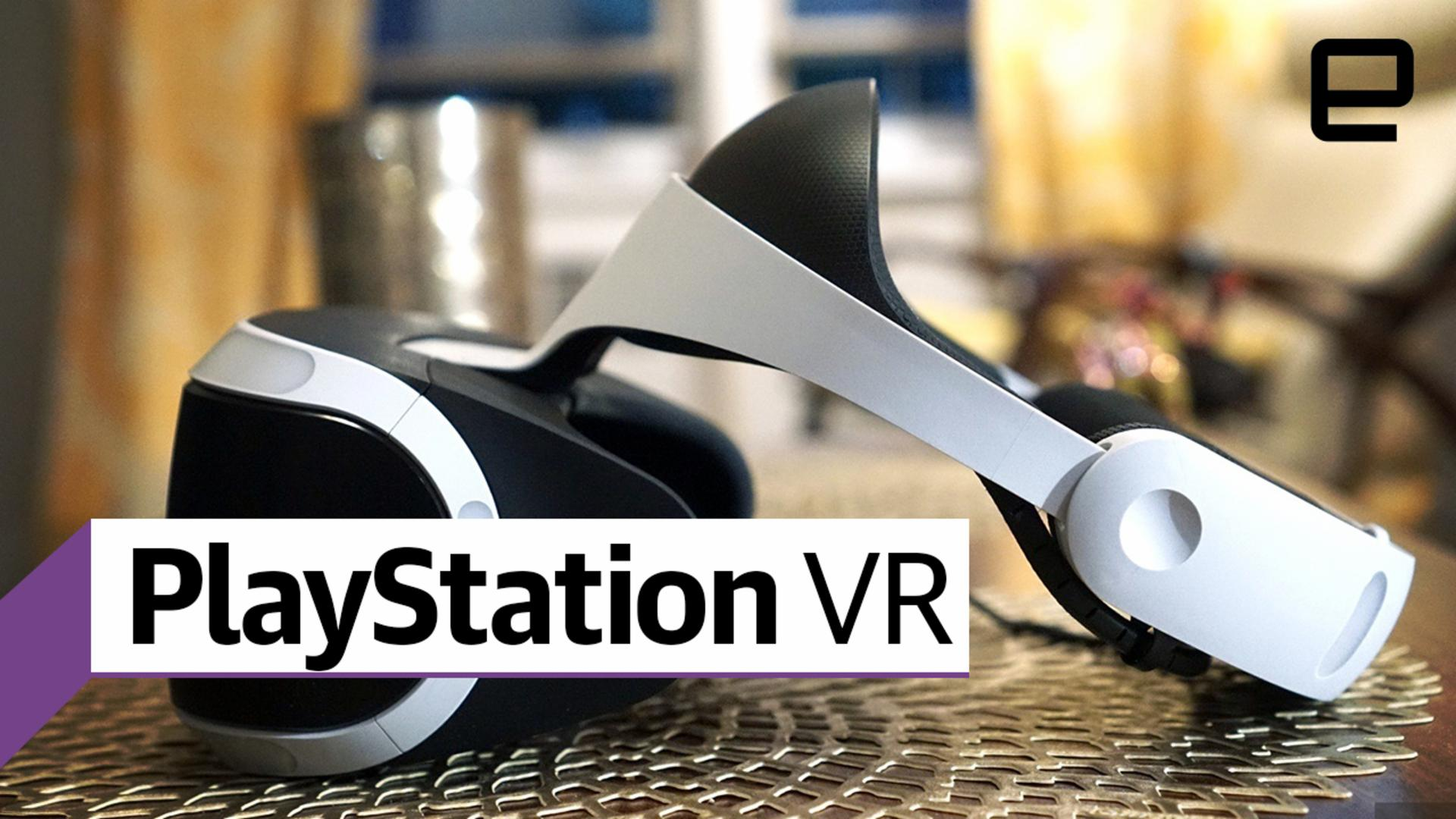 PlayStation VR review: Great games outweigh limited specs