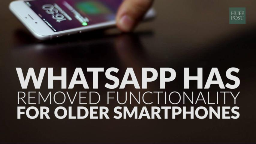 WhatsApp Has Removed Functionality For Older Smartphones
