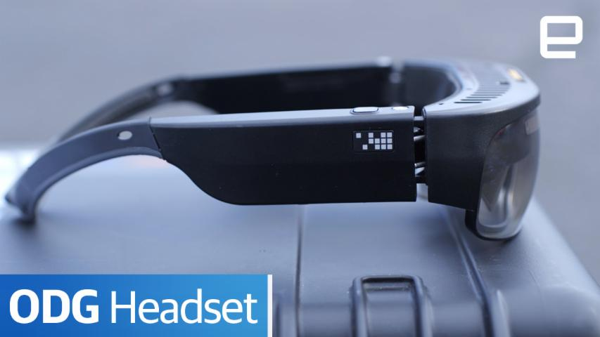 ODG Headset: Hands-on