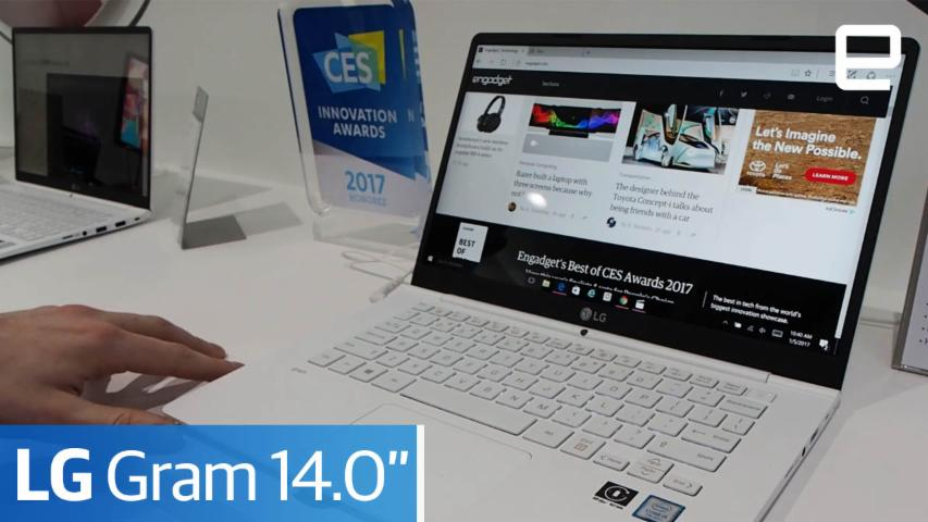 "LG Gram 14.0"" : Hands On"