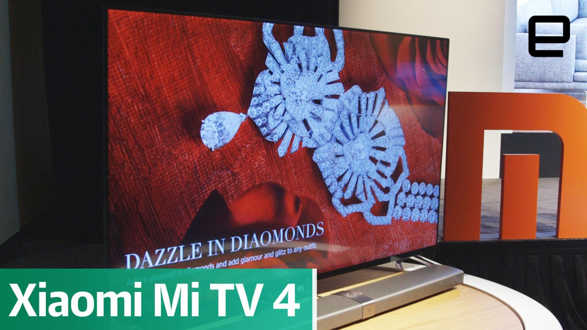 Xiaomi unveils a TV that's thinner than the iPhone
