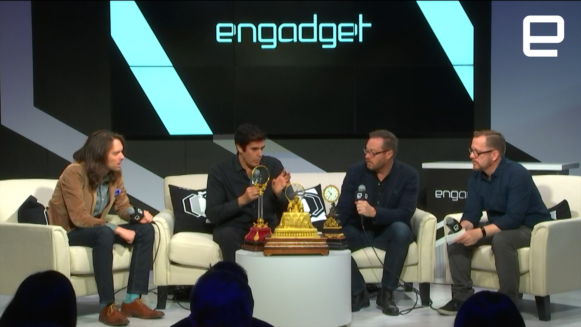 David Copperfield: 'I come to CES to get inspired'