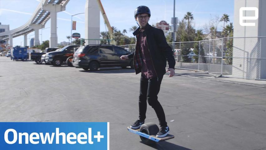 Onewheel+: Hands-on