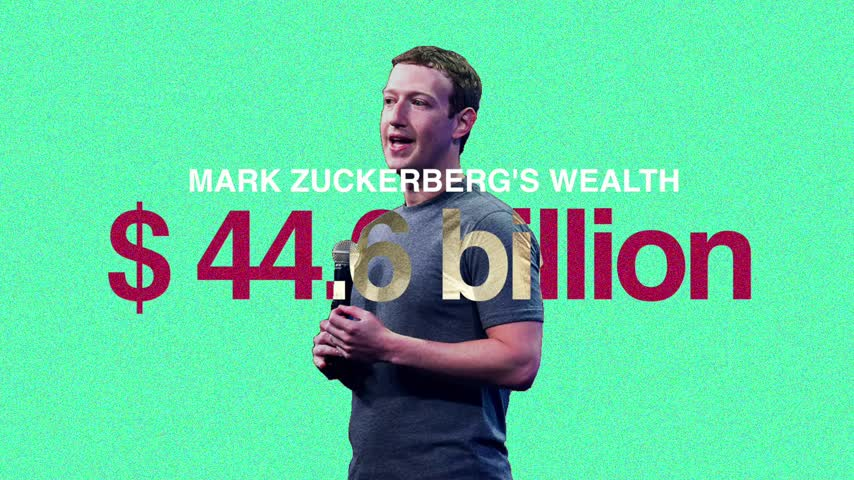 8 men own as much wealth as the poorest 3.6 billion people in the world.