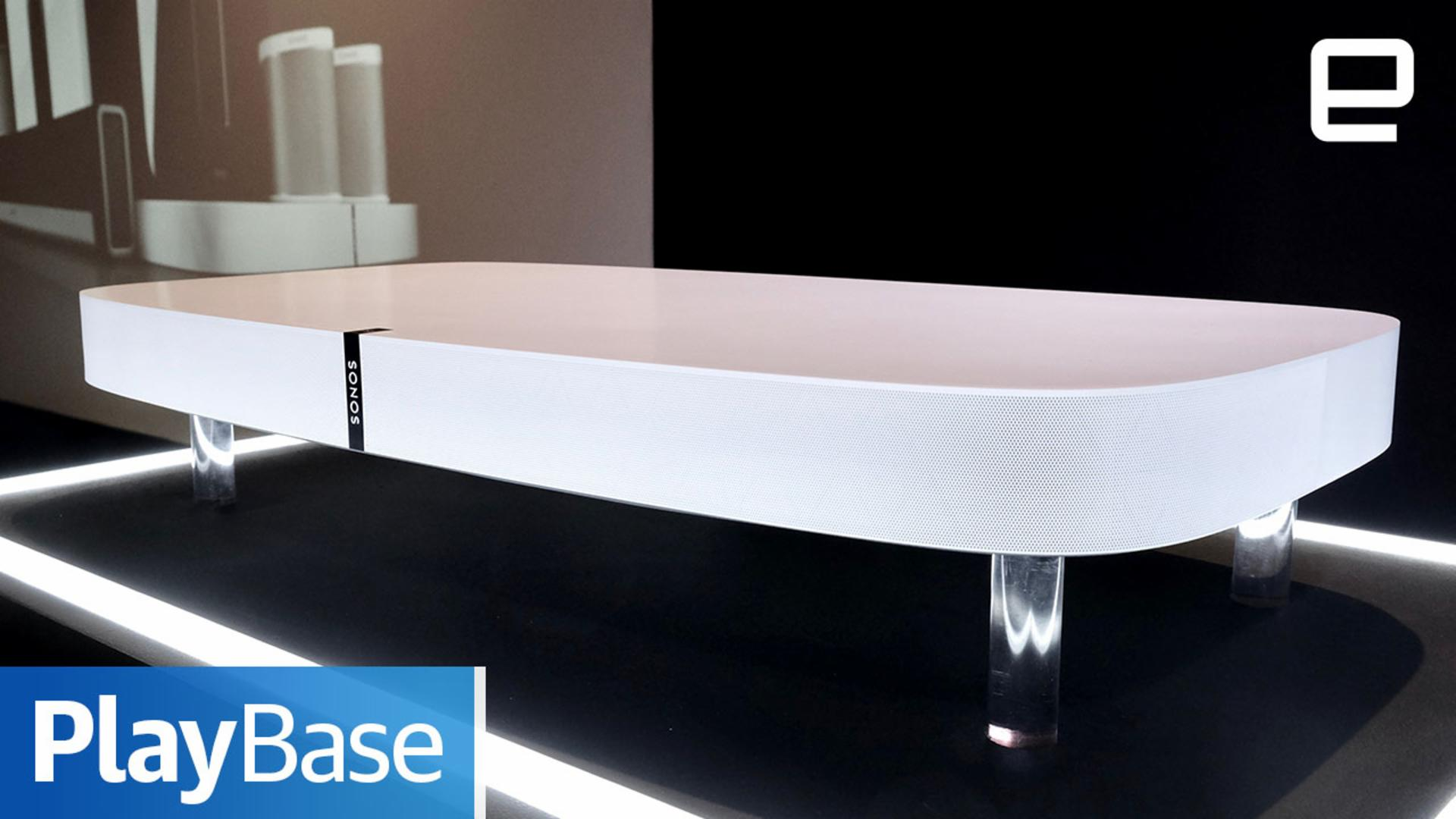 How Sonos made the new Playbase sound a lot better than it should
