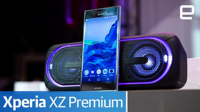 Sony Xperia XZ Premium : Hands-on