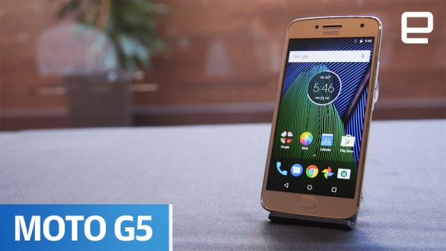 Moto G5 & G5 Plus | Hands-On