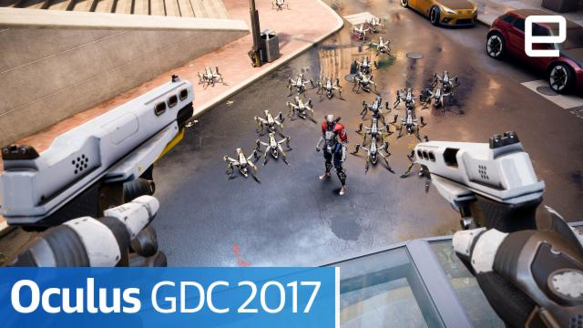 Oculus at GDC 2017 | Hands-on