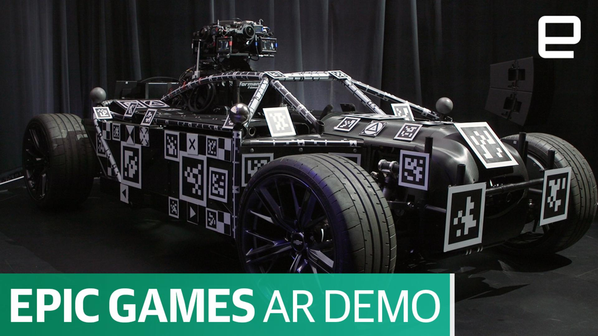 Epic Games shows the potential of high-end augmented reality