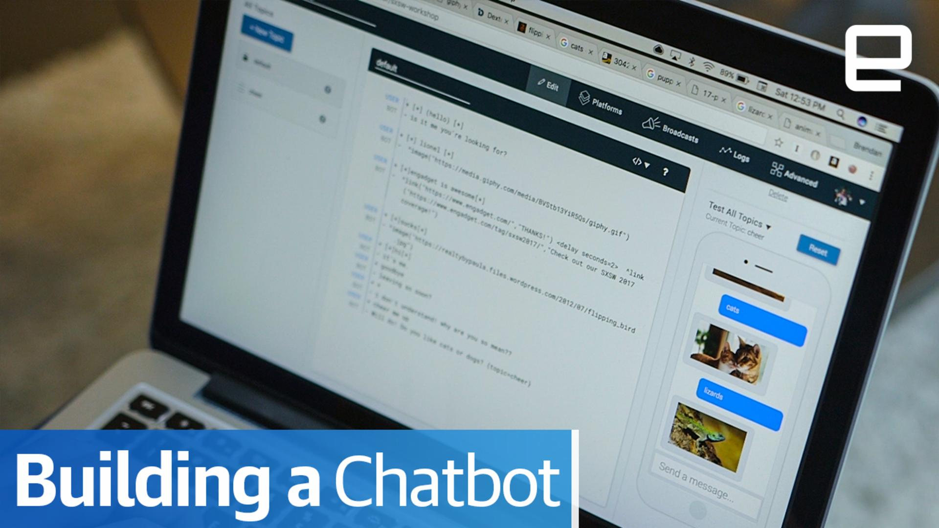 Building your own chatbot is a lot easier than you'd expect