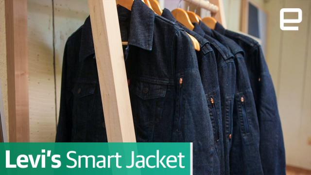 Levi's Smart Commuter Jacket | First Look | SXSW 2017
