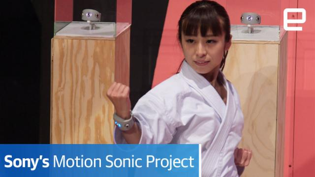 Sony's Motion Sonic Project | Hands-On | SXSW 2017