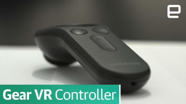 Gear VR Controller | First Look | MWC 2017
