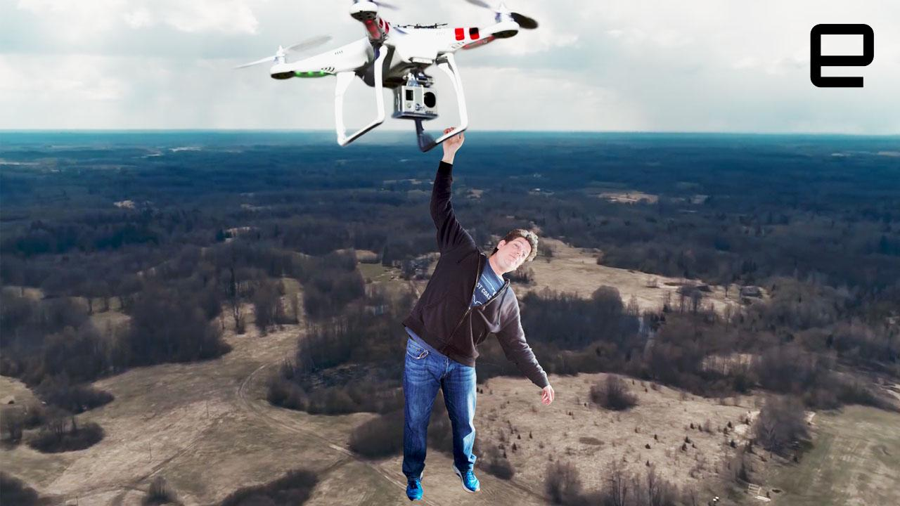 ICYMI: Skydiving from drones while Lowe's exoskeleton does heavy lifting