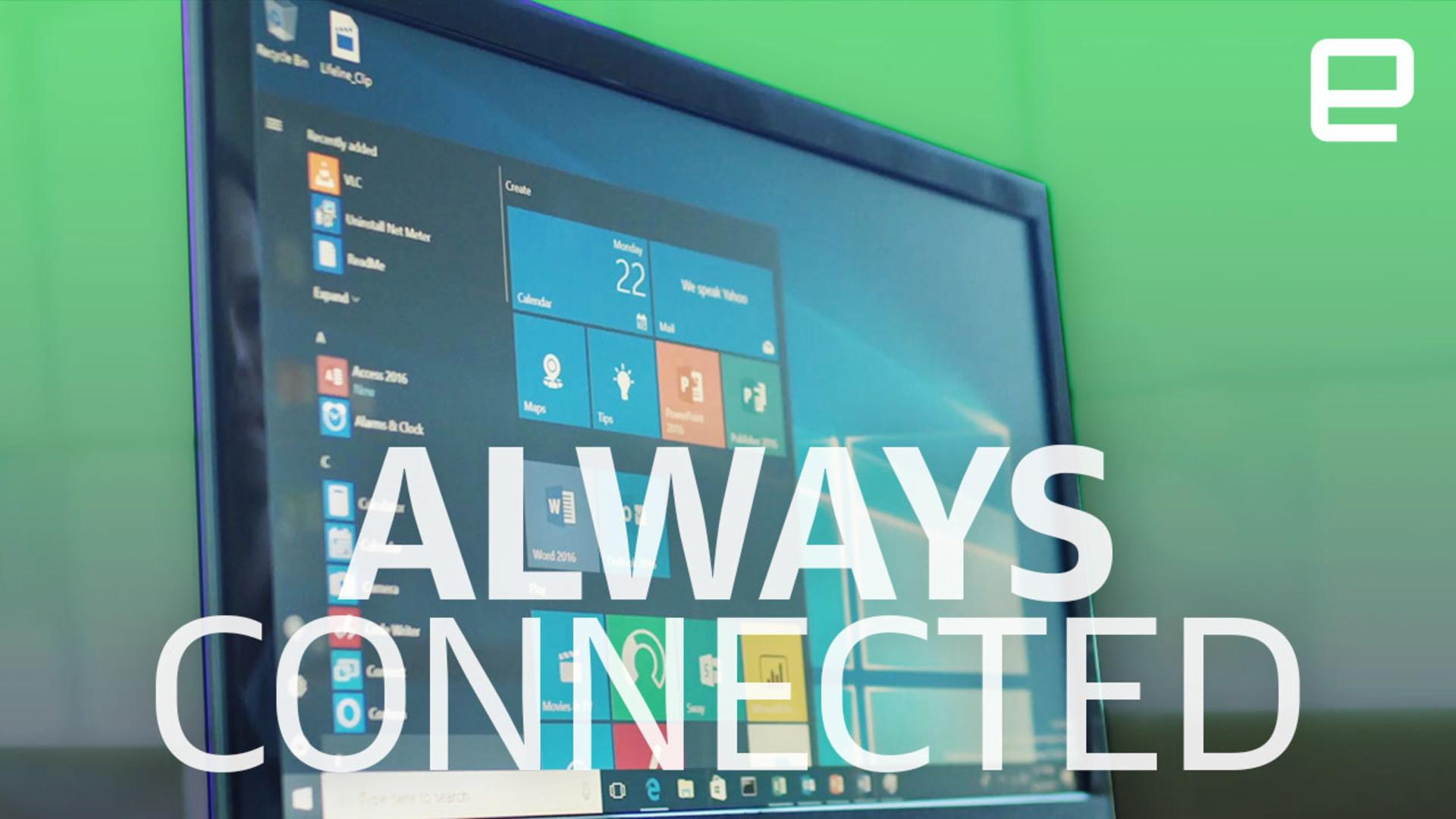 Windows on Snapdragon is key to making PCs more connected