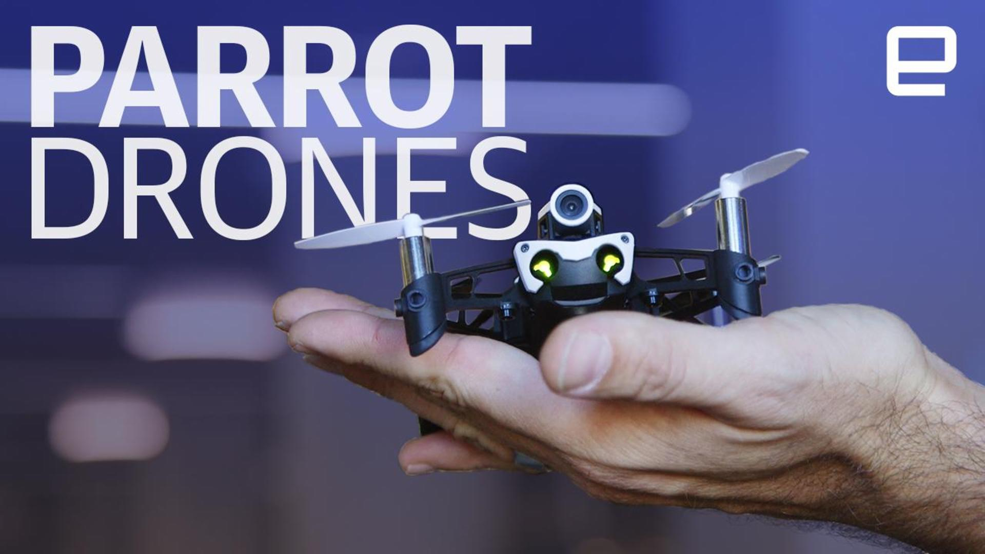Parrot's Mambo FPV puts you in the mini-cockpit