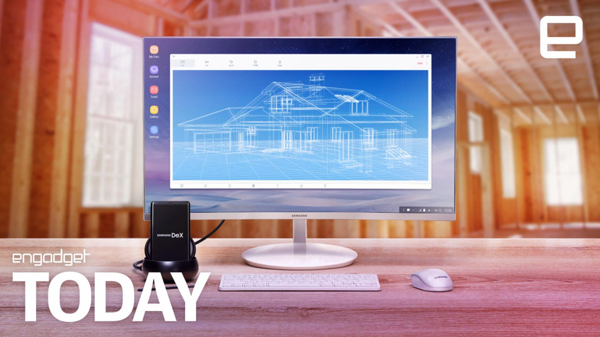 Samsung's phone-as-desktop concept now runs Linux