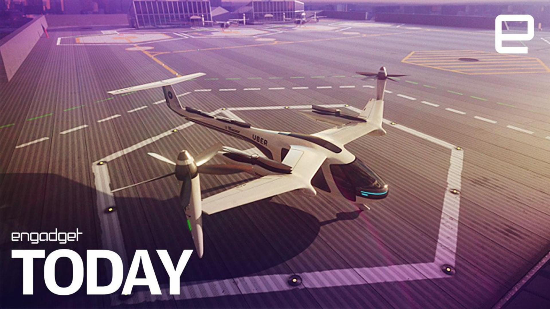 Uber works with NASA to get flying taxis ready by 2020