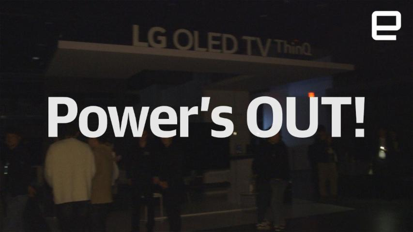 The power is OUT at CES 2018!