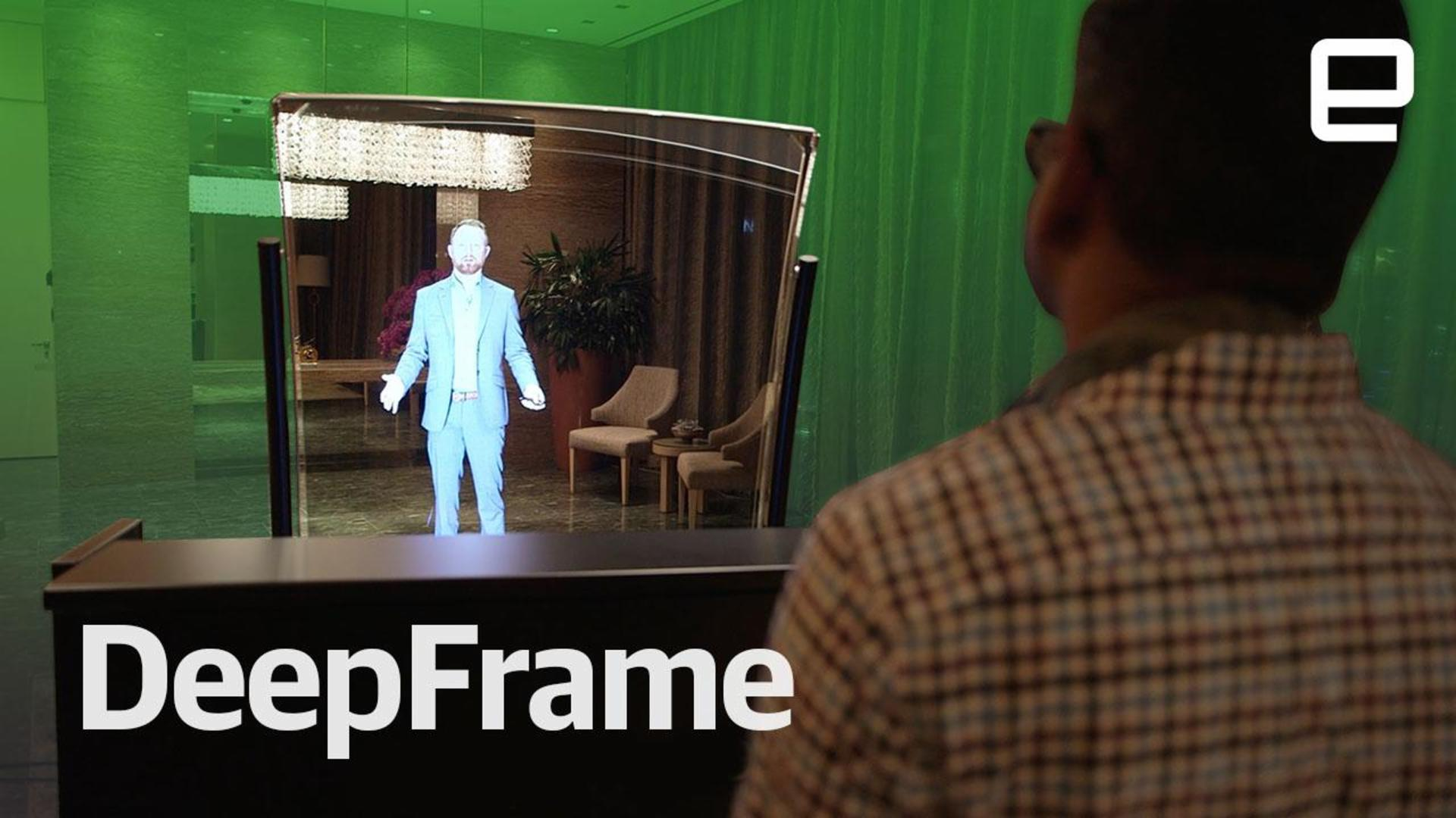 DeepFrame brings augmented reality to a huge screen