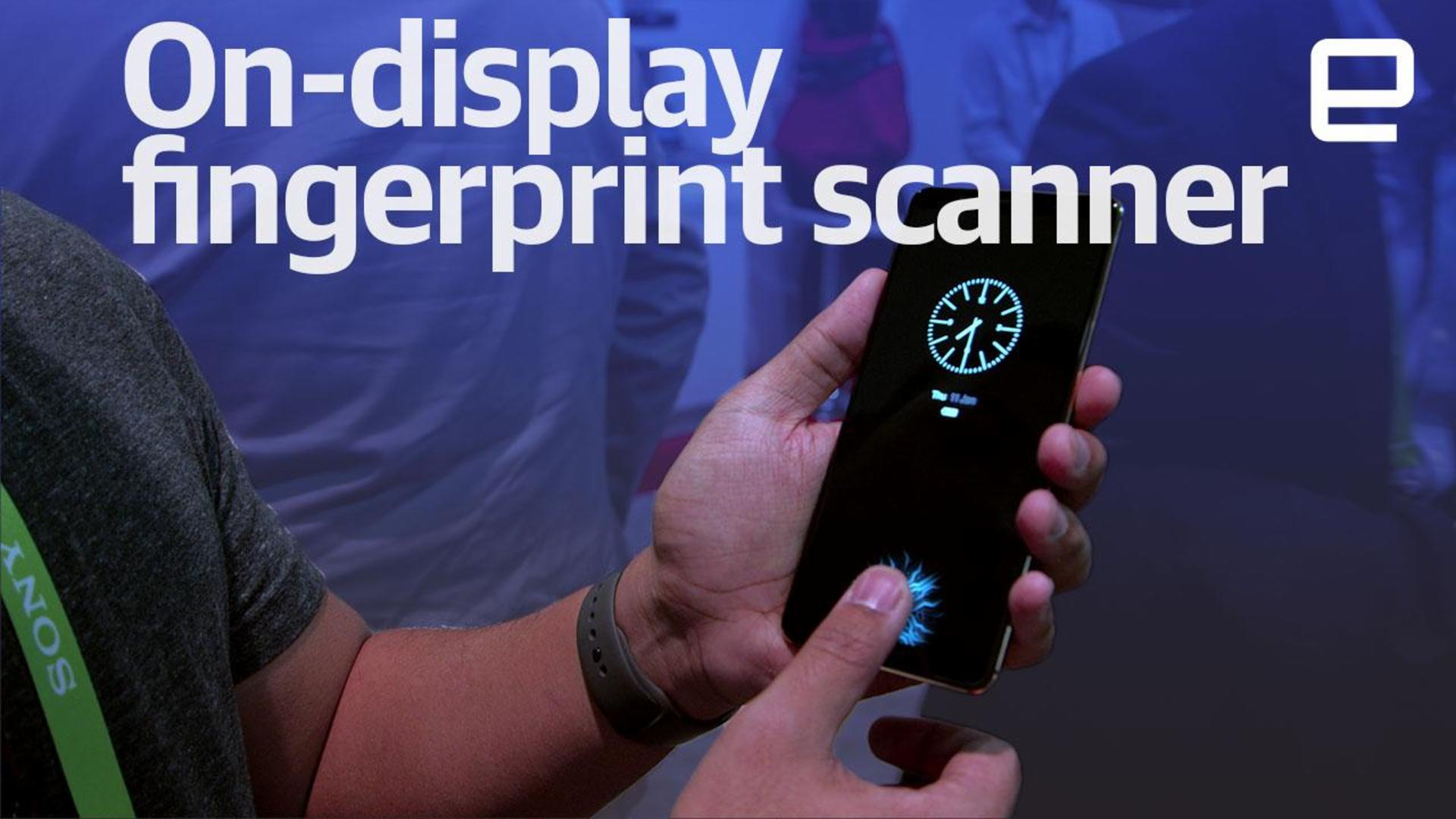 This phone's in-display fingerprint sensor is a taste of things to come