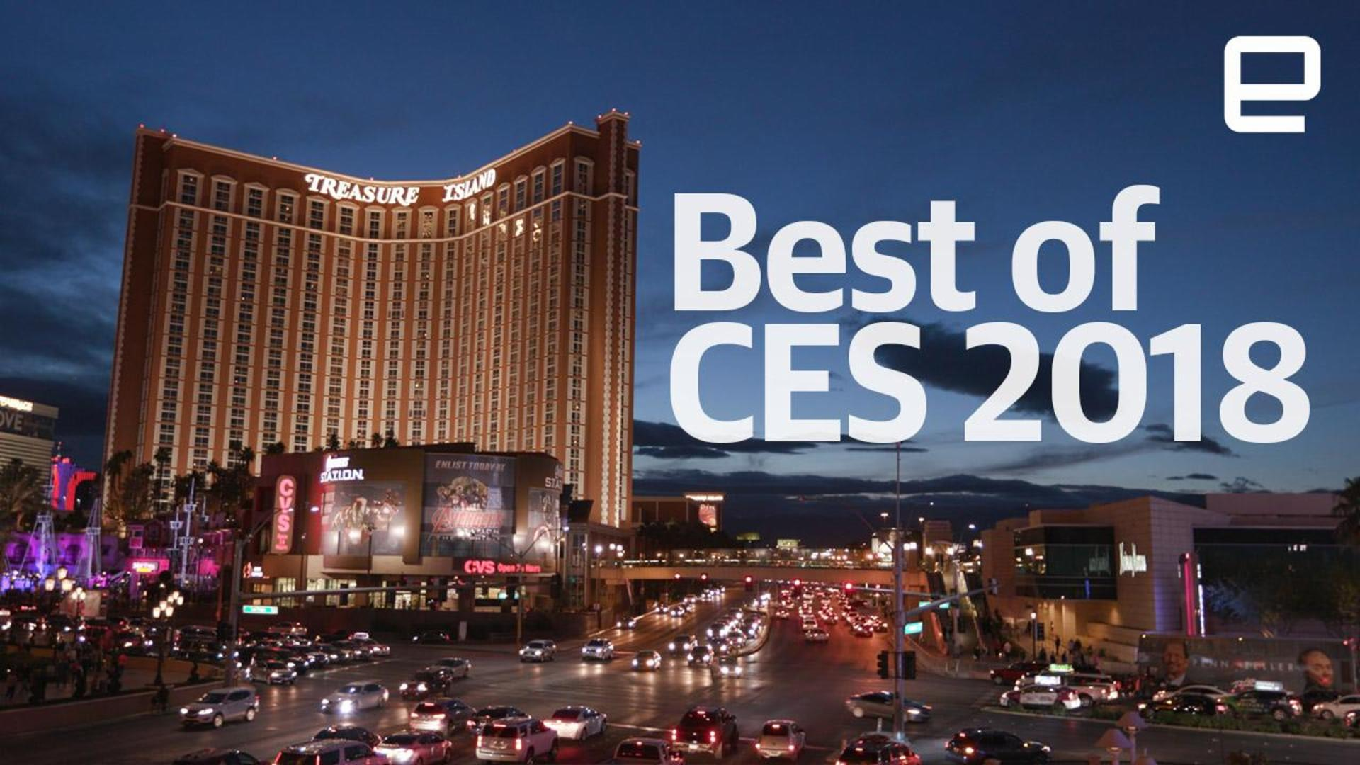 Presenting the Best of CES 2018 winners!
