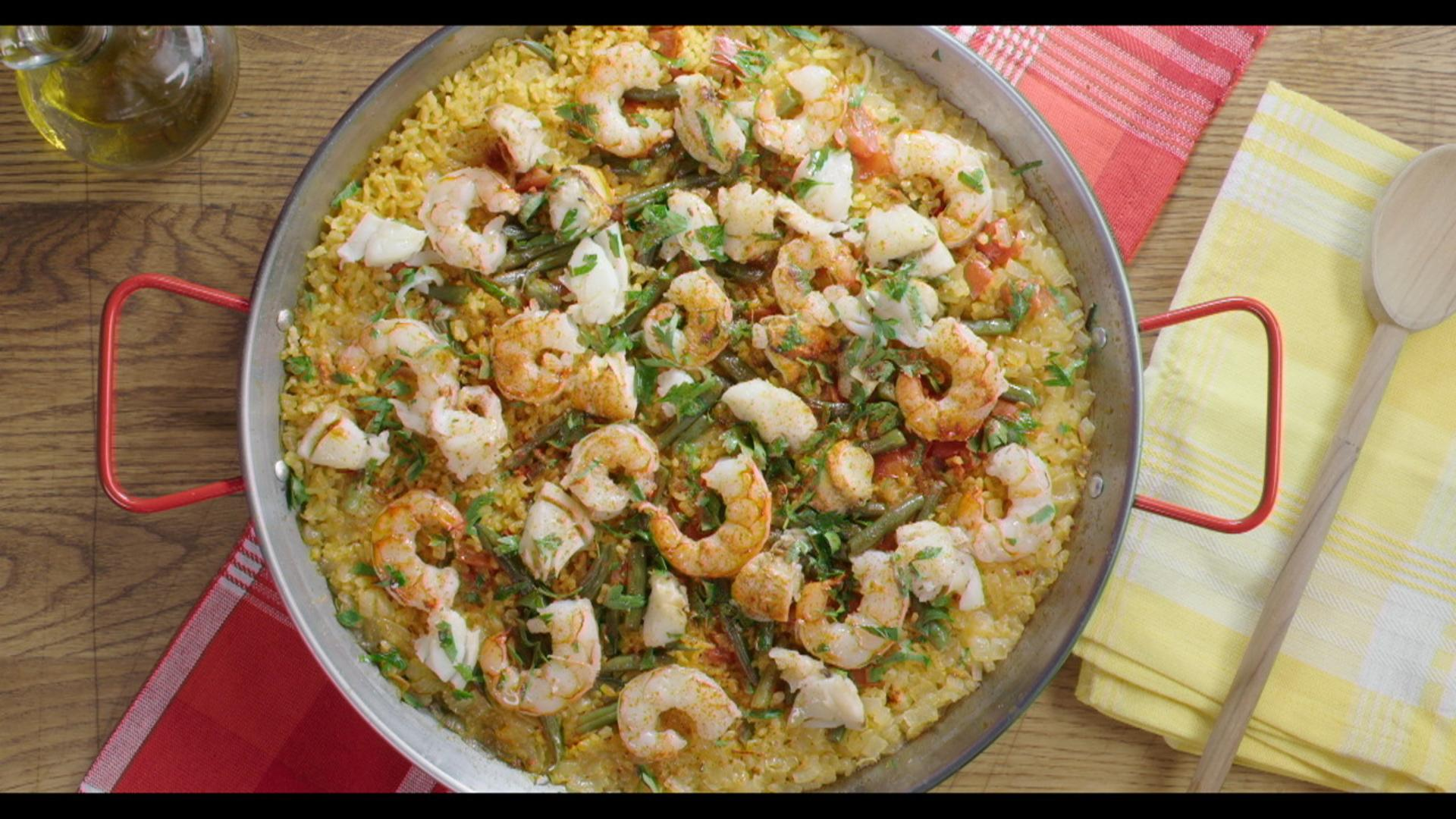 Best Bites: Easy seafood paella