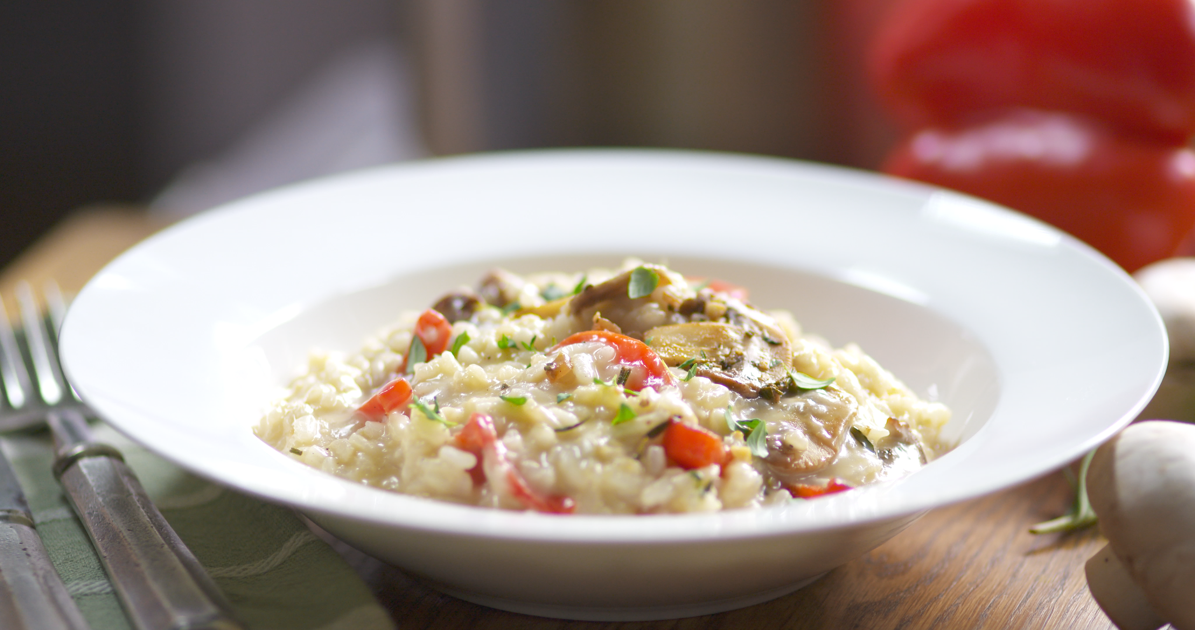 Best Bites: Smoked Gouda Risotto with Mushrooms