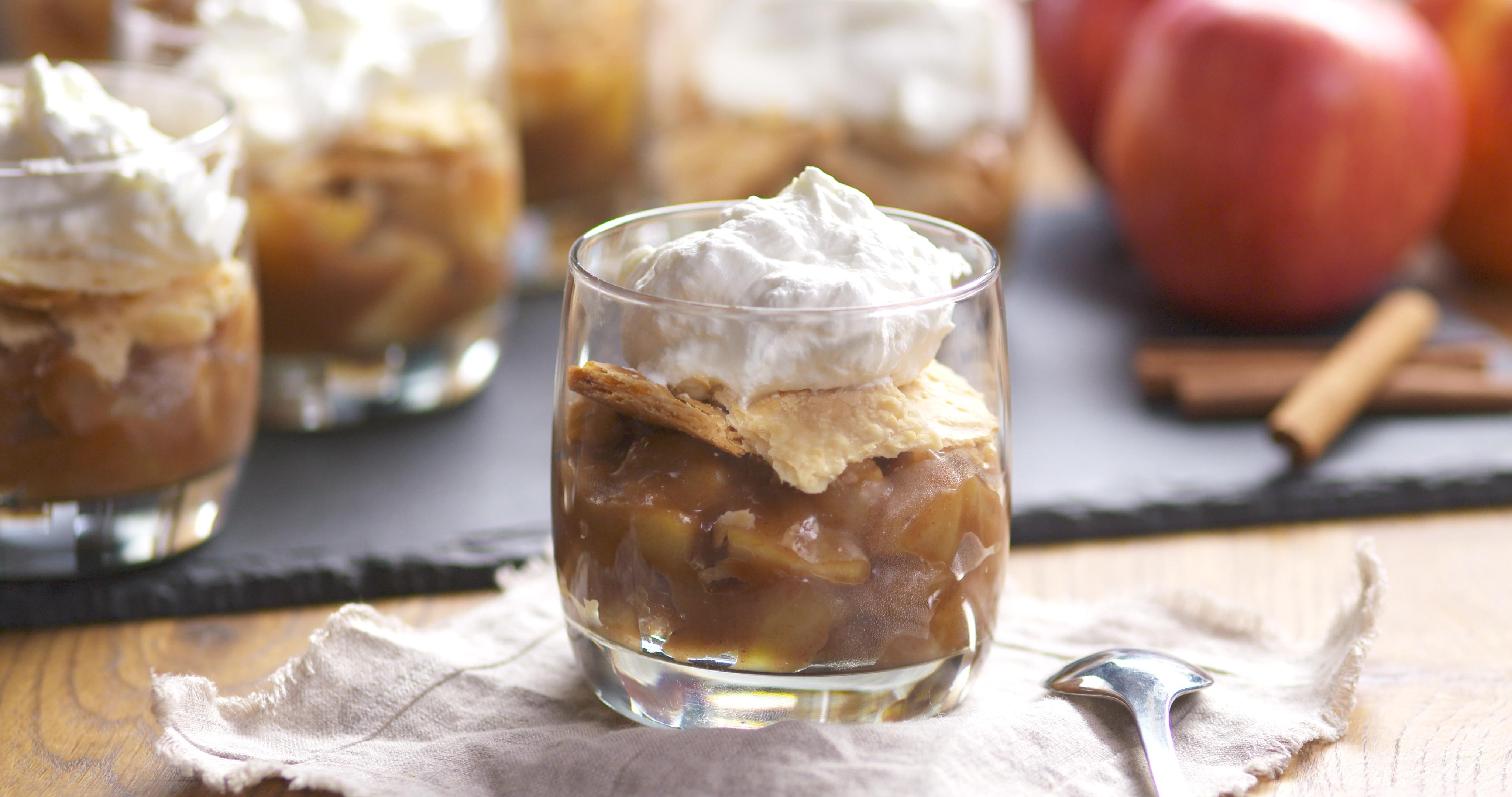 Best Bites: Deconstructed Apple Pie in a Cup