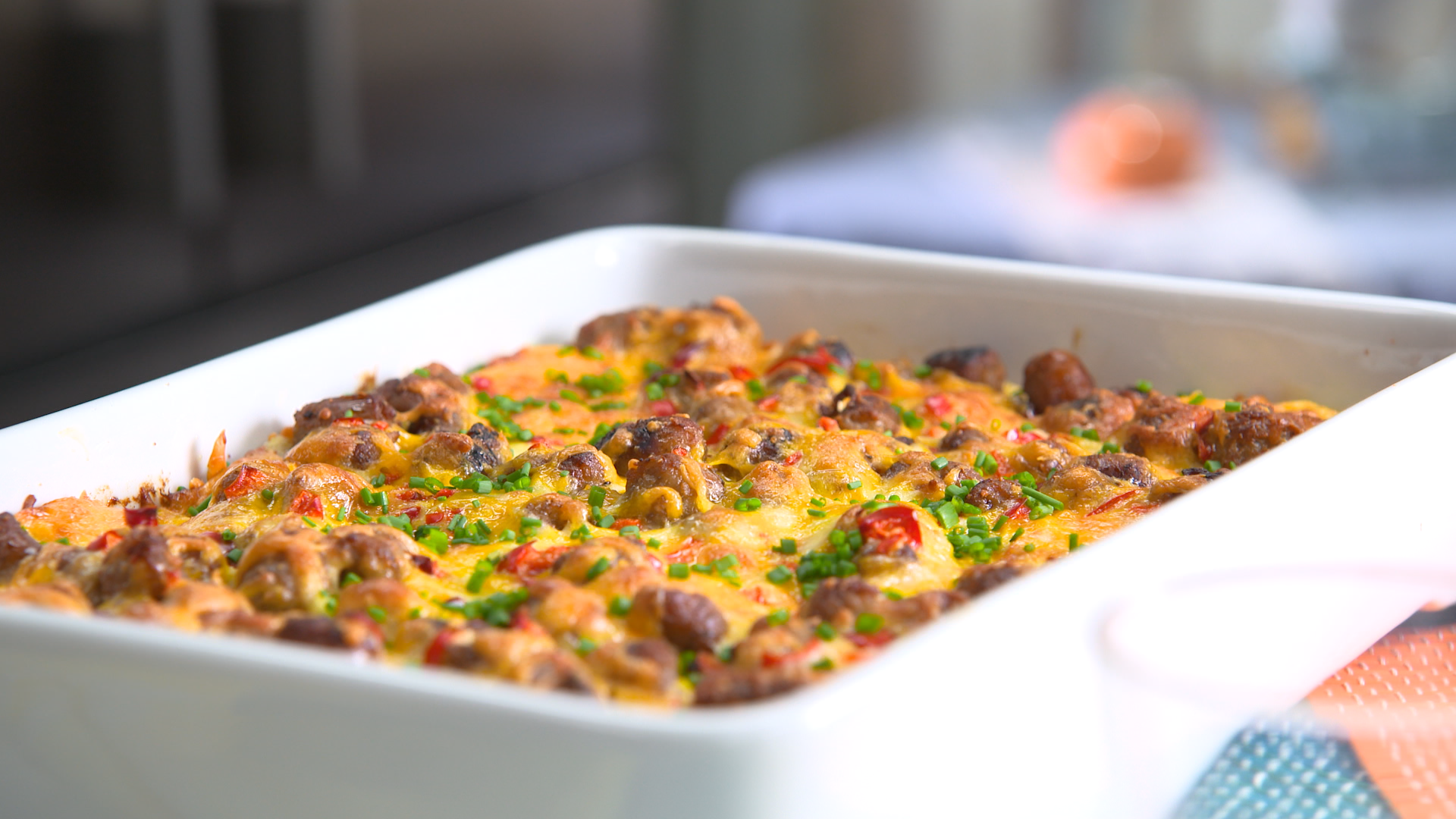 Best Bites: Overnight success: Overnight sausage, egg & cheese breakfast casserole