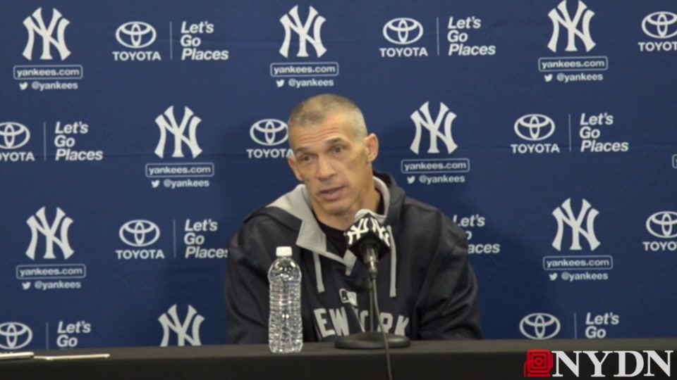 Yankees Manager Joe Girardi on Tanaka and Rodriguez