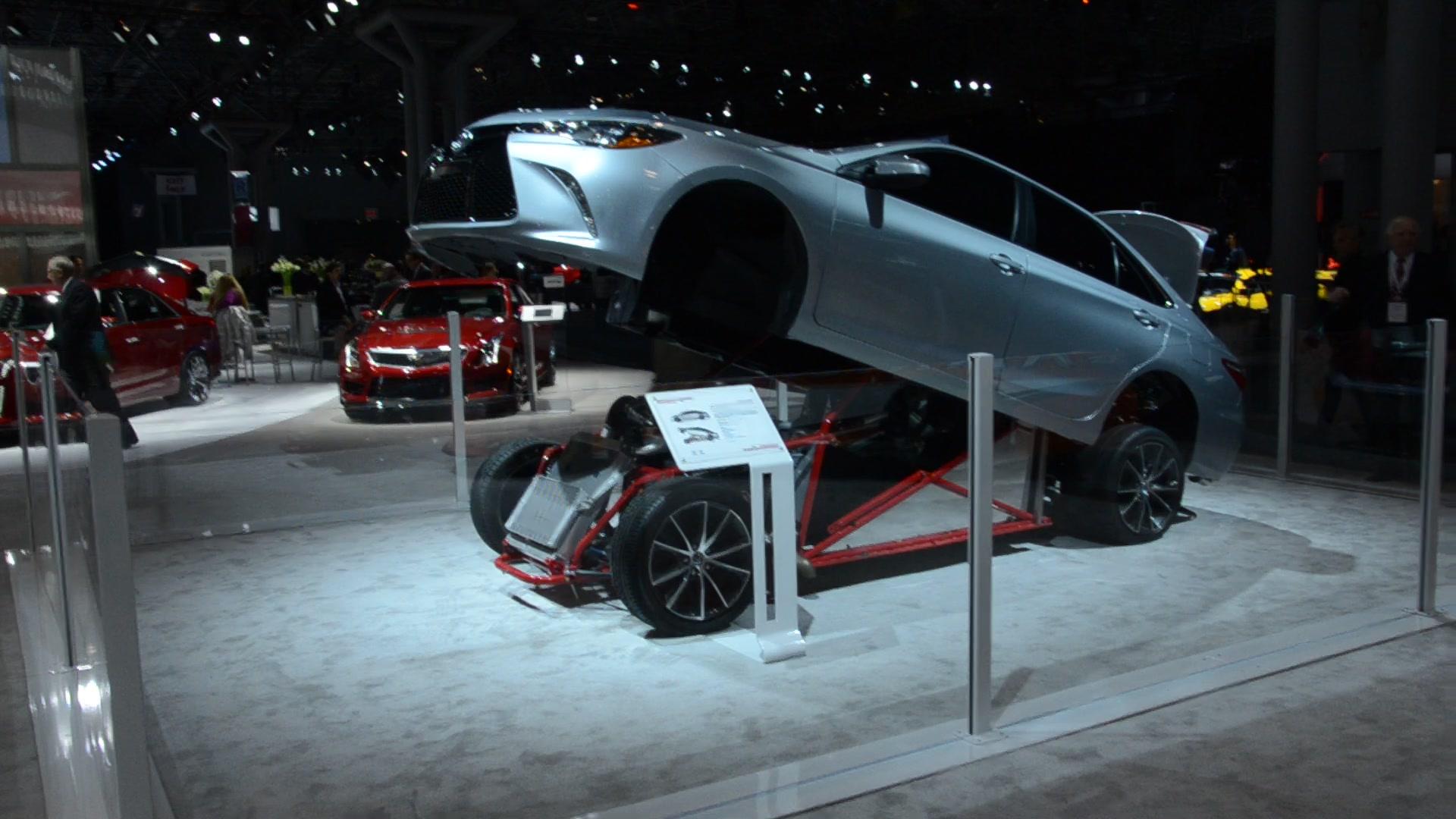 E B Fd D V on Nascar Electric Race Cars
