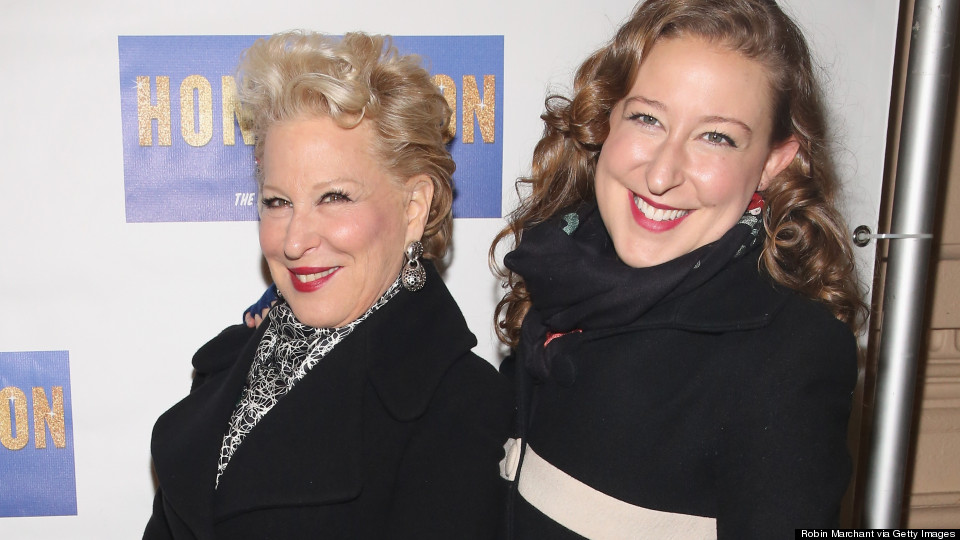 Bette Midler's Daughter Looks Just Like Her Famous Mom